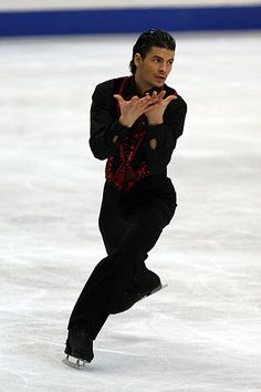 The Spin Master - Nine-time Men's Swiss National Figure Skating Champion and two-time Men's World Figure Skating Champion, Stéphane Lambiel