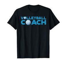 Volleyball Coach T-Shirt Volleyball Funny, Coaching Volleyball, Branded T Shirts, Fashion Brands, Amazon, Clothing, Mens Tops, Stuff To Buy, Outfits