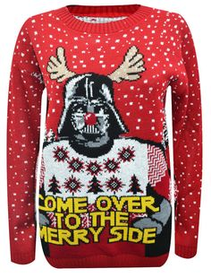 "The Darth Vader has been humiliated jumper | Community Post: 23 Holiday-Themed ""Star Wars"" Jumpers That Are Out Of This World"