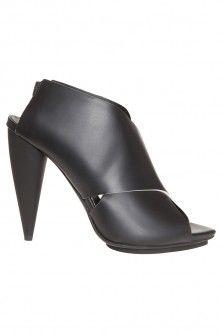 leather cross front high heel by PROENZA SCHOULER