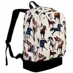 Personalized Cowprint w//Cowboy Kids Backpack