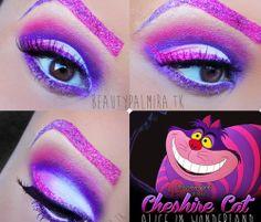 Scary Alice in Wonderland Makeup | Alice in wonderland inspired makeup!