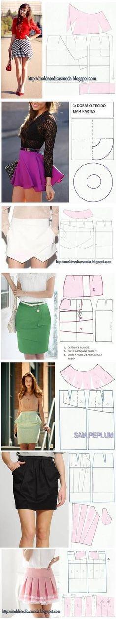 DIY Stylish Skirts Follow Us on Facebook -->> http://www.facebook.com/UsefulDiy