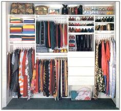 Master Bedroom Closet Makeover Before and After | organizing ...