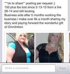 Omnitrition. Weight loss. Nutrition. Lose weight.  Earn money. http://www.omnitrition.com/TinaHowe
