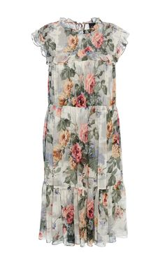 Needle & Thread  Floral-Print Dress  $370