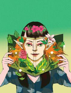 Spring Reading II - A gallery-quality illustration art print by Jenn Liv for sale. Aya Sato And Bambi, Tag Art, Fairy Tales, Illustration Art, Illustrations, Street Art, Animation, Manga, Art Prints