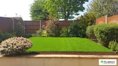 Beautiful spring green lawn #artificialgrass #gardens #landscaping