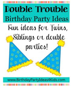 193 Best Twin Birthday Parties Images In 2019
