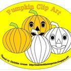 $1 This product was created by Christina Aronen. To get the uncolored and colored pumpkins, you will need to unzip this file. These pumpkins have a tr...