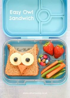 4 Fun and Easy Sandwich Ideas - Fun Food for Kids - perfect for school lunch box. - 4 Fun and Easy Sandwich Ideas – Fun Food for Kids – perfect for school lunch boxes bento boxes - Bento Box Lunch For Kids, Kids Packed Lunch, Cute Bento Boxes, Cool Lunch Boxes, Kids Lunch For School, School Ideas, Toddler Meals, Kids Meals, Toddler Food