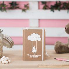 Cuaderno cartoné A-6 kraft - cuadernos bonitos