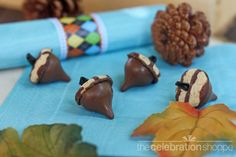 Cute acorn treats