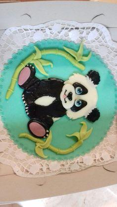 Dort panda Fondant, Panda, Cake, Desserts, Food, Food Cakes, Tailgate Desserts, Deserts, Kuchen