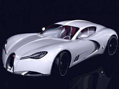 Polish designer Pawel Czyżewski combines two legendary Bugattis, the Veyron and the Type 57 SC Atalante Coupe, to form the Bugatti Gangloff Concept. Bugatti Veyron, Bugatti Cars, Lamborghini, Maserati, Sexy Cars, Hot Cars, Audi, Porsche, Jaguar