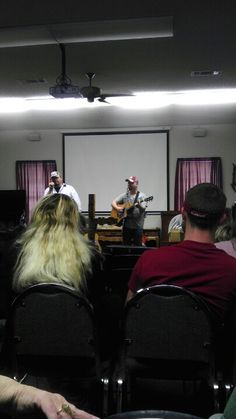 Southern Boys singing at Hope Corral Cowboy Church.
