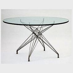 Gorgeous #Eames table.  Check out those legs...