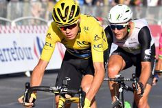 Chris Froome and Steve Cummings 2016 Tour de France