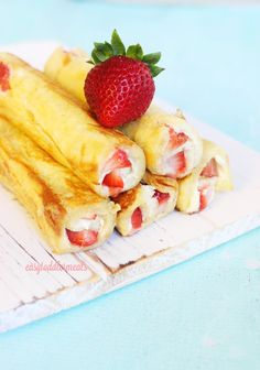Strawberry Cheese Rollups - Easy Toddler Meals