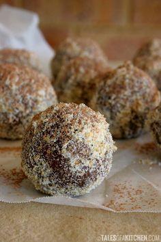 Chocolate orange fudgy balls - Gluten-Free, Vegan