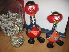 """Clown groß """" CARLO """" und Clown klein """" MONTE """""""