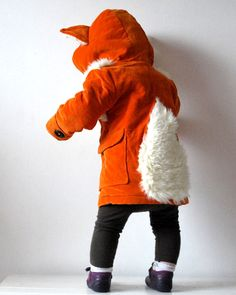 Fox coat for wee ones!