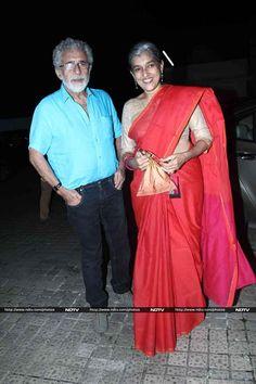 Deepika Padukone, Arjun Kapoor go Finding Fanny on Television Bollywood Fashion, Bollywood Actress, Ratna Pathak, Finding Fanny, Arjun Kapoor, Beautiful Saree, Deepika Padukone, Saree Blouse, Indian Outfits