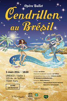 05/03 ♥ Cendrillon, une princesse au Brésil ! ♥ Opéra/Ballet ♥ Paris ♥  http://paulabarrozo.blogspot.com.br/2014/02/0503-cendrillon-une-princesse-au-bresil.html
