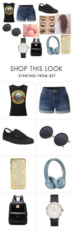 """""""Untitled #500"""" by laesr1118 on Polyvore featuring Miss Selfridge, LE3NO and Vans"""