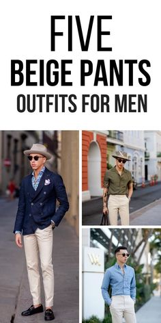 Look no further. We've curated 5 most amazing beige outfit ideas for men that you won't want to try. Chinos Men Outfit, Tan Chinos, Beige Outfit, Look Zara, Mens Fashion Blog, Fashion News, Men's Fashion, Winter Outfits Men, Casual Outfits