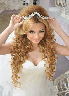 Bridal #hairstyle omg this is beautiful