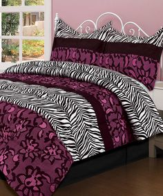 Take a look at this Modana Comforter Set on zulily today!