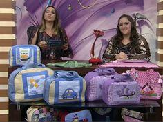Bolsa para Maternidade | Arte com Tecidos