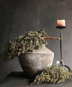 Dadeltakken Wabi Sabi, Interior Natural, Safari Wedding, Rustic Ceramics, Home Pictures, French Country Decorating, Ikebana, First Home, Porches
