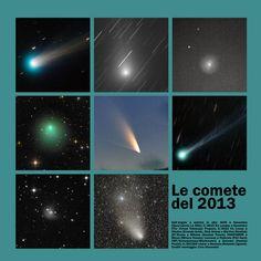 """Le tre comete che forse illumineranno il Natale - Dalla cometa """"zombie"""" ISON, a LINEAR, passando per LOVEJOY. Le comete che dal 20 dicembre relegheranno in secondo piano Giove, Venere e le Gemidi"""