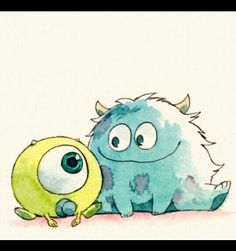 My favorite movie of all time<3 Baby sully and baby mike xp