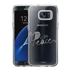 Samsung Galaxy S7 Edge Doodle Peace Case