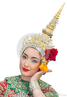Thailand Culture Women   ... show in a ramayana epic and beautiful traditional costume of thailand