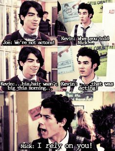 hahaa not only is this Jonas but it's a curly hair prob