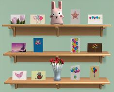 Mod The Sims - Twelve Birthday Cards for MogHughson's Postal System