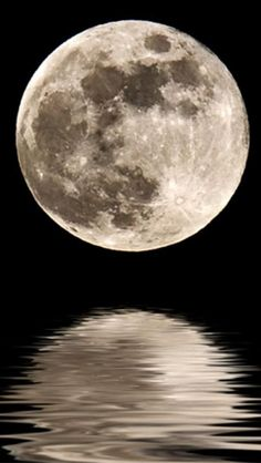 full moon, Space