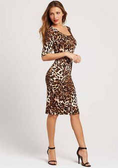 Just bought this leopard print dress.. Am I crazy?