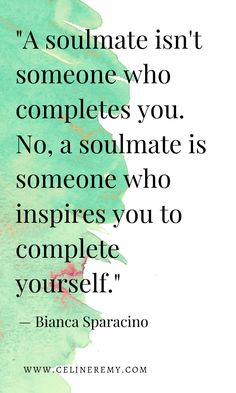 Soulmate Love Quote