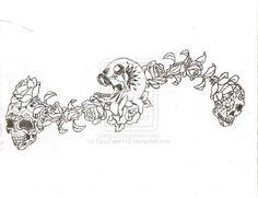 Sugar Skull Tattoo by TacoEater112 on deviantART