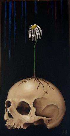 Vanitas Vanitatum. Oil on canvas 30x60cm.