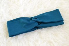 Teal Turban Headband Headwrap Twist Turban Baby by MissPhoebeLane