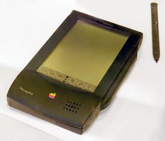 The Newton was Apple's first foray into the PDA markets, as well as one of the first in the industry. Despite being a financial flop at the time of its release, it helped pave the way for the Palm Pilot and Apple's own iPhone and iPad in the future.