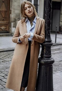 A camel long-line ankle coat is a timeless piece that's versatile. It truly makes a statement, whether it be with a jeans and sneakers to get milk or an LBD for a night out. Cashmere adds that extra comfort, and luxury feel while holding up through the years.