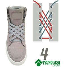 Discover recipes, home ideas, style inspiration and other ideas to try. Ways To Lace Shoes, How To Tie Shoes, Diy Fashion, Fashion Shoes, Mens Fashion, Creative Shoes, Tie Shoelaces, Lace Patterns, Diy Clothes
