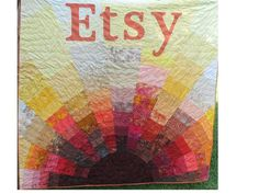 Custom Quilt by TexasQuiltsforyou on Etsy